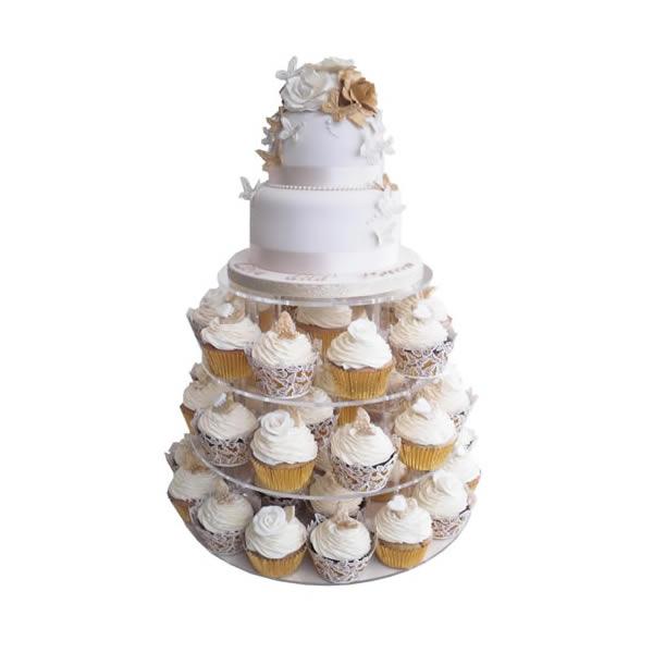 Anniversary Tower Cake