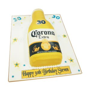 Corona Bottle Cake