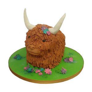 Highland Cow Cake