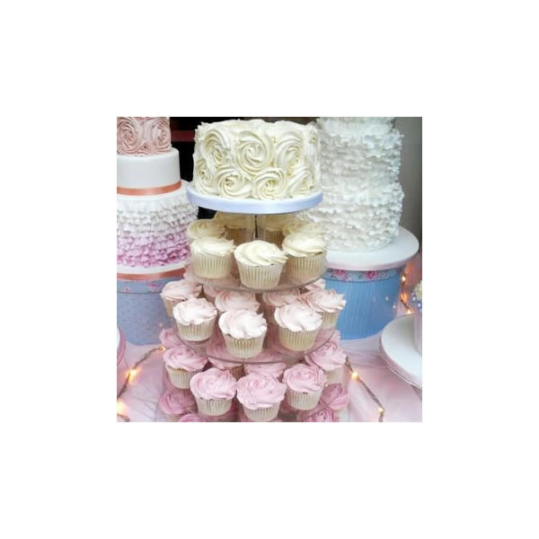 Wedding Swirl Cupcakes