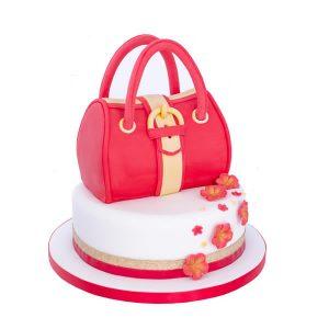 2 Tier Handbag Cake