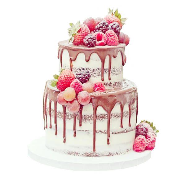 Chocolate Buttercream Birthday Cake