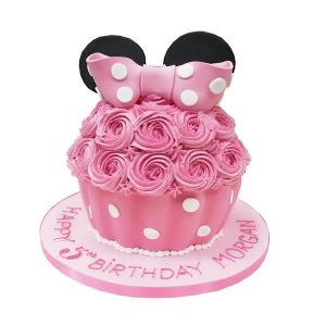 Minnie Mouse Large Cupcake