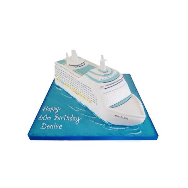 Cruise Ship Birthday Cake