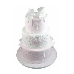 3-Tier-Communion-cake
