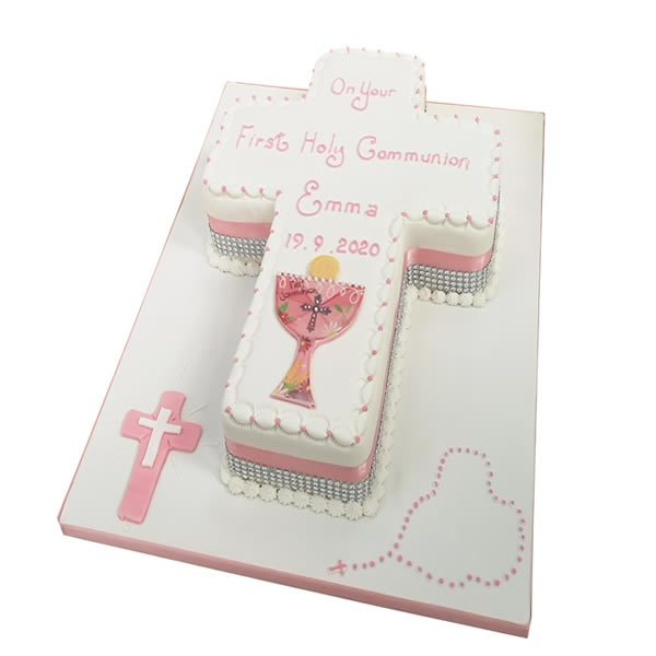 Communion-Cross-Cake